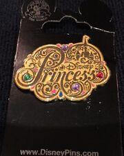 Disney * JEWELED PRINCESS LOGO * New on Card Trading Pin