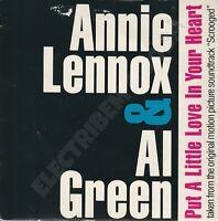 "ANNIE LENNOX & AL GREEN PUT A LITTLE LOVE IN YOUR HEART 3""CD SINGLE A&M CDEE 484"