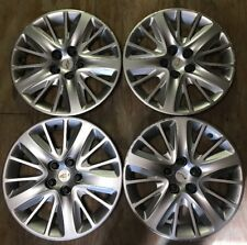 "Set 4 Factory Chevrolet Impala Hubcaps Wheel Covers 2014 2015 2016 2017 18"" 3299"