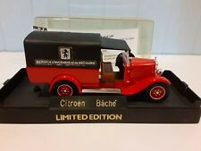 Vintage 1/43 Solido Limited Edition - 1930 Citroen C4F Bache Delivery Truck
