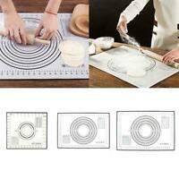 3 Sizes Non-Stick Silicone Baking Mat Extra Large Dough Pastry Mats Rolling Y0X1