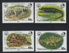 Gambia 1981 Abuko Nature Reserve set Sc# 432-35 NH
