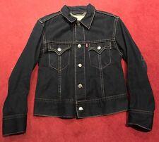 Classique LEVIS Jeans Bleu Veste Taille M/L