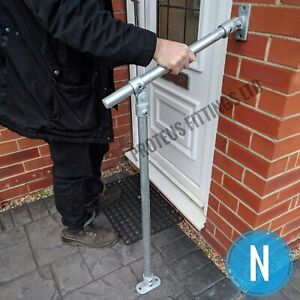 Outdoor Mobility Hand Rail Safety Handrail Garden Steps Adjustable Disabled N