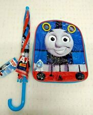 Thomas The Tank Engine & Friends Umbrella & Backpack All Aboard  BNIP