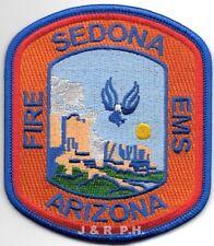 "*NEW*  Sedona  Fire - E.M.S., Arizona  (3.5"" x 4"" size) fire patch"
