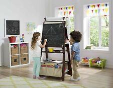 Delta Children 3-in-1 Kids Art Easel with Storage, Brown