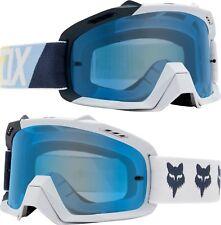 Fox AIRE Space Motocross Mx Gafas draftr - GRIS CLARO azules Tintado Lente