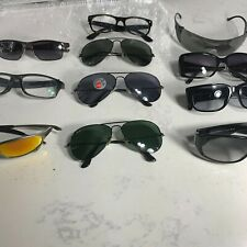 Lot Of 10 unisex  Ray Ban, OAKLEY, Versace, Christian Dior and others Sunglasses