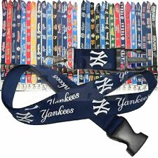 Major League Baseball Team Lanyard Keychain w/ Key Strap