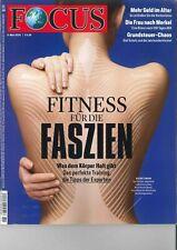 FOCUS Magazin - Heft 11/2019: Fitness für Faszien +++ wie neu +++