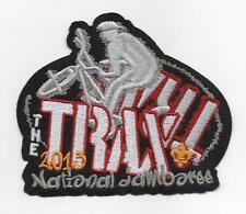 "2013 National Jamboree ""The Trax"" Biking Course Patch, Mint!"