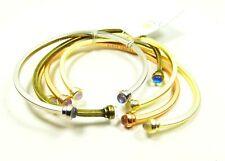 KENDRA SCOTT Kriss Gold Plated Set of Five Cuff Bracelets