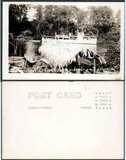 El Carabobo Boat Yurumanqui River Veneral Colombia RPPC Real Photo Ship Postcard