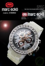 MARC ECKO MEN'S INTERCHANGABLE BEZEL CHRONOGRAPH WATCH E18500G3