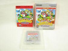 WARIO LAND Super Mario Land 3 Item Ref/ccc Game Boy Nintendo Japan Game gb