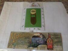 Jimmy Buffett Margaritaville Book Marks Orlando Las Vegas New Metal & Paper