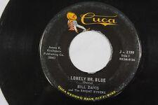 Bill Davis Northern Soul 45rpm Vinyl Played Tested Record Cuca J-1199