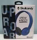 SKULLCANDY UPROAR WIRELESS BLUETOOTH HEADPHONES (BLUE) , NEW IN BOX