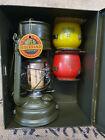 Original Feuerhand 276 Sturmkappe Petroleumlampe im Koffer/ Bundeswehr Notlicht