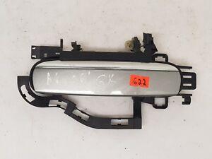 AUDI A6 C6 2006 LHD REAR LEFT SIDE EXTERIOR DOOR HANDLE GREY OEM 4F0837885