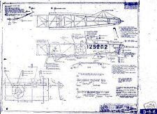 Boeing Stearman ARCHIVE BLUEPRINT PLANS RARE ARCHIVE FACTORY DRAWINGS 1940's