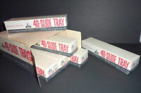 Vintage Case of Sears Tower Slide Trays All Projectors Using TDC Trays NOS w/Box