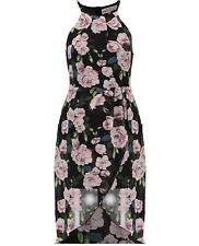 Casual Floral Tea 100% Cotton Dresses for Women