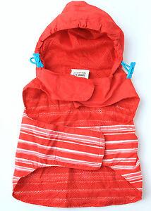 Martha Stewart Red Windbreaker Rain Jacket - Small