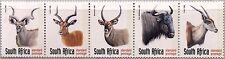 RSA SÜDAFRIKA SOUTH AFRICA 1998 1124-28 Y A Tiere Animals Fauna Impala Bock MNH