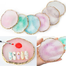 DIY Art Nail Mixing Colour Plate Resin Stone Color Pallet Painting  Drawing Tool