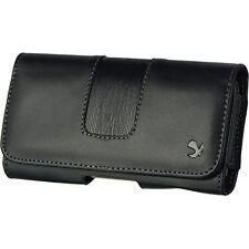 Black5 Horizontal Belt Clip Leather Pouch Case for Samsung Galaxy S6 Edge Plus