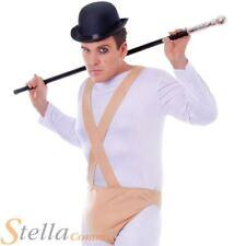 Mens Clockwork Orange Male Prisoner 70s Halloween Fancy Dress Costume Outfit