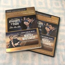Tcm North by Northwest/Strangers on a Train Dvd Cary Grant, Ruth Roman