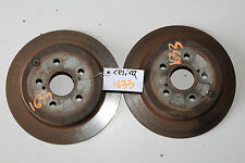 2000-2005 TOYOTA CELICA GT-S REAR BRAKE ROTORS PAIR LEFT & RIGHT GTS 1633