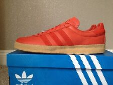 adidas Topanga California Size 9 Surf Red Leather  80s Football Casuals BNIB