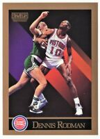 1990 Sky Box Basketball card#91 Dennis Rodman Detroit Pistons Mint Condition.