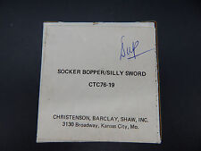 original vintage toy SOCKER BOPPER SILLY SWORD 16mm commercial reel tv ad RARE !