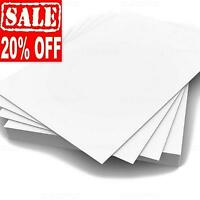 A4 A3 WHITE CARD MAKING WEDDING BLANK CRAFT DECOUPAGE STOCK PAPER PRINTER 300gsm
