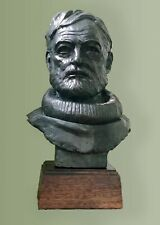 Bust of Author Ernest Hemmingway. Edition of only 50. Signed certificate.