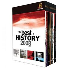 The Best of History Channel 2008 Vol IV 10 DVD Set NEW and SEALED