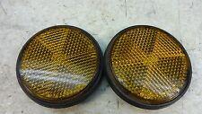 1978 yamaha xs650 ohc y436~ front orange round reflectors