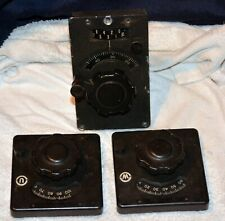 Vintage Turns Counter with Matching Geared Knobs