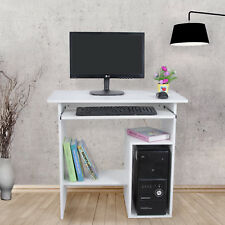 Songmics bureau informatique / table Meuble de pour ordinateur Blanc Lcd852w