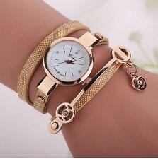 Mujeres cubren la pulsera reloj caja oro de cuarzo reloj Relojes Mujer nuevo