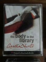 Agatha Christie The Body in the Library read by  S. Cole   2 Cassette Audio Book