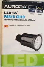 Aurora Luna Par16, GU10, 120V,8W Cree Dimmable LED Lamp#AR-P164085/42