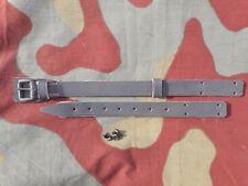 Sottogola elmetto M33, soggolo, italian helmet WW2 leather chin strap, RSI TOP