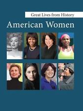 Great Lives from History: American Women : Print Purchase Includes Free...