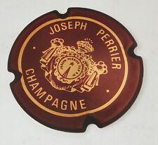 CP pub CHAMPAGNE Joseph PERRIER - Les Prestigieuses Maisons de CHAMPAGNE Capsule